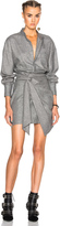 Isabel Marant Khol Draped Stuff Dress