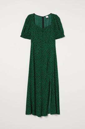 H&M Patterned Dress - Black