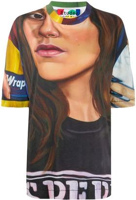 Études Museum Chloe Wise painting-print T-shirt