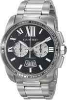 Cartier Men's W7100061 Analog Display Swiss Automatic Silver Watch