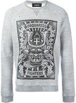 DSQUARED2 'Fighters' sweatshirt
