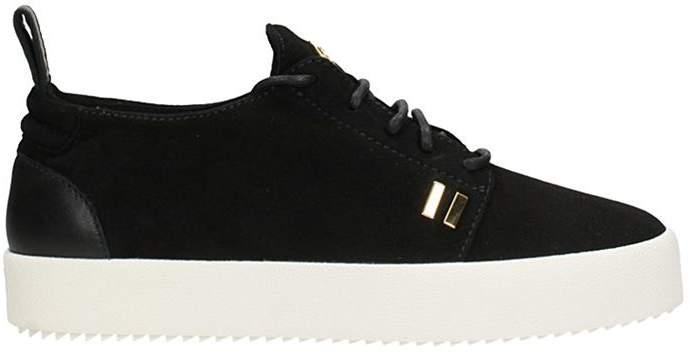 Giuseppe Zanotti Gordon Black Suede Sneakers
