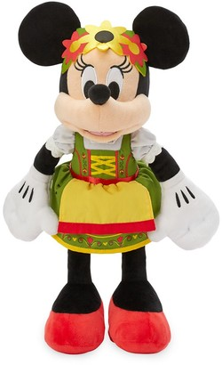 Disney Minnie Mouse Bavarian Plush Germany World Showcase Small 13''