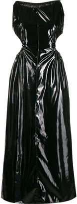 Maison Margiela PVC halterneck dress