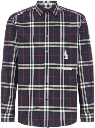 Burberry Classic Check Print Shirt
