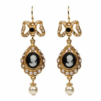 Ben-Amun Jewelry Cameo Collection Earrings Fashion Jewelry for Woman