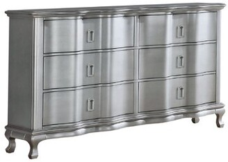Everly Quinn Serafin 6 Drawer Double Dresser