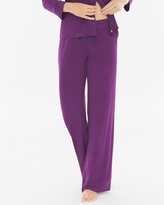 Soma Intimates Pajama Pants Mod Dot Warm Plum SH