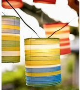 Fiesta Stripe Paper Lanterns
