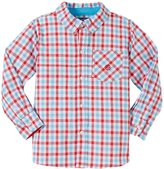 Andy & Evan Gingham Shirt (Toddler/Kids) - Red 7 Years