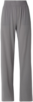 Norma Kamali Boyfriend Stretch-jersey Wide-leg Pants