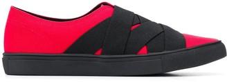 Yohji Yamamoto Strappy Slip-On Sneakers