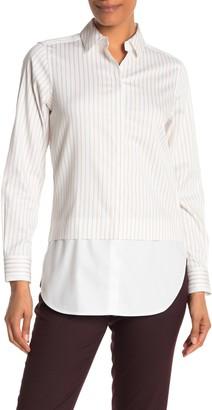 Foxcroft Giselle Non Iron Twofer Shirt
