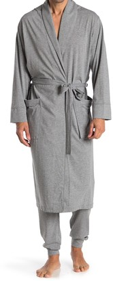 Daniel Buchler Knit Shawl Collar Robe