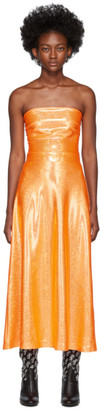 Saks Potts Orange Shimmer Jepska Dress