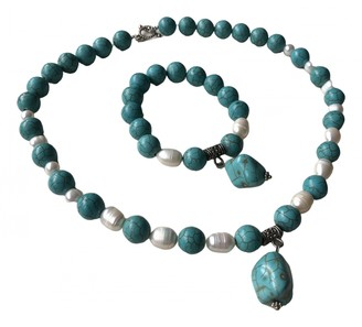 Non Signã© / Unsigned Turquoises Turquoise Pearls Jewellery sets
