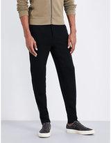 Ralph Lauren Purple Label Leather-trim Cashmere-blend Jogging Bottoms