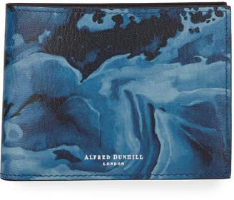 Dunhill Duke Marble Leather Billfold Wallet