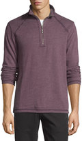 Tommy Bahama Quarter-Zip Stretch-Knit Jacket, Planet