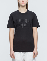 McQ by Alexander McQueen Logo Embroidered T-shirt