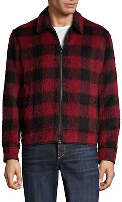 Rag & Bone Garage Plaid Wool-Blend Jacket