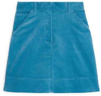 Arket Corduroy Mini Skirt