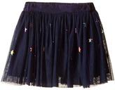 Stella McCartney Honey Star Print Tulle Skirt Girl's Skirt