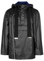 Maison Mihara Yasuhiro Black Coated Cotton Jacket