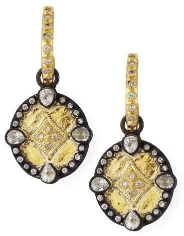 Armenta Shield Drop Earrings