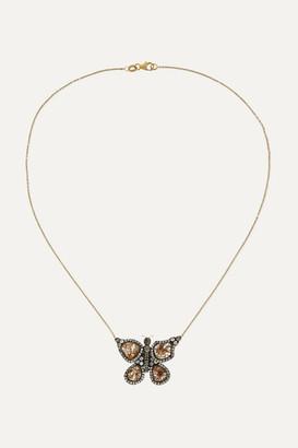 Kimberly Mcdonald McDonald - + Net Sustain 18-karat Gold Diamond Necklace - one size
