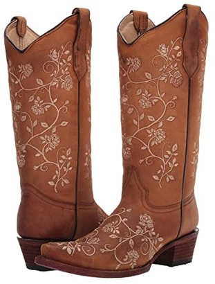Corral Boots L5443 (Straw) Women's Boots