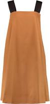 Rochas Stretch-cotton crepe dress