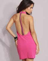 ASOS Zip Back Cowl Neck Bodycon Dress