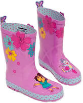 Kidorable Little Girls' or Toddler Girls' Dora the Explorer Rain Boots