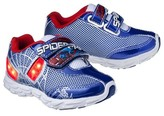 Spiderman Toddler Boy's Light Up Sneakers - Blue