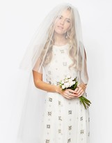 Asos WEDDING Floral Hair Veil