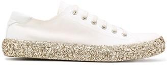 Saint Laurent Glitter Sole Sneakers