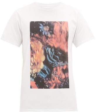 Saturdays NYC Night Floral Cotton T-shirt - Mens - White Multi