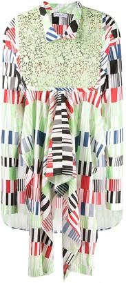 J.W.Anderson asymmetric day dress