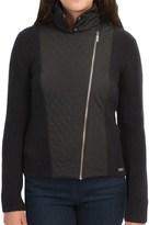 Barbour Marianne Zip Cardigan Sweater - Lambswool (For Women)