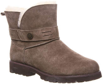 BearPaw Womens Wellston Water Resistant Winter Boots Block Heel