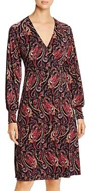 Leota Daisy Wrap-Bodice Dress