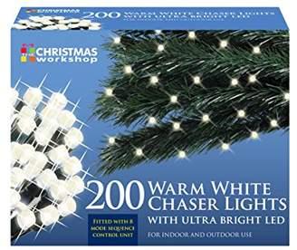 The Benross Christmas Workshop 200 LED String Lights, Warm White