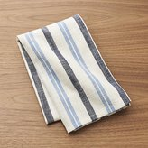 Crate & Barrel Farmhouse Blue Stripe Dish Towel