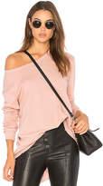 Wilt Big Backslant Sweatshirt in Blush. - size M (also in S,XS)