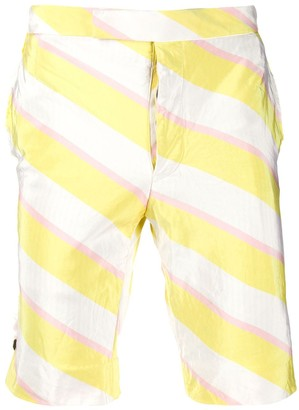 Thom Browne Diagonal Stripe Shorts