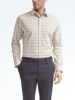 Banana Republic Grant-Fit Non-Iron Stretch Plaid Shirt
