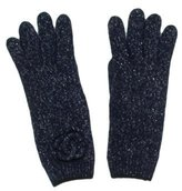 Chanel Metallic Cashmere Gloves