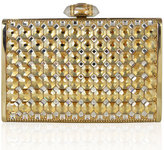 Judith Leiber Tall Slender Rectangle Clutch Bag, Champagne