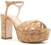 Schutz Darila Cork Platform Sandal